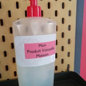 "Mon produit vaisselle ""Maison"""