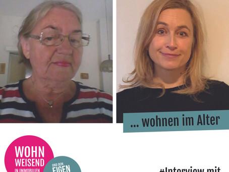 Wohnen im Alter - am liebsten im eigenen Zuhause. 5 Fragen von Wohnweisend an Ruth Engelhardt