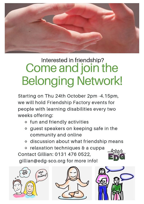 Come join the Belonging Network