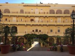 The magical Samode Palace.