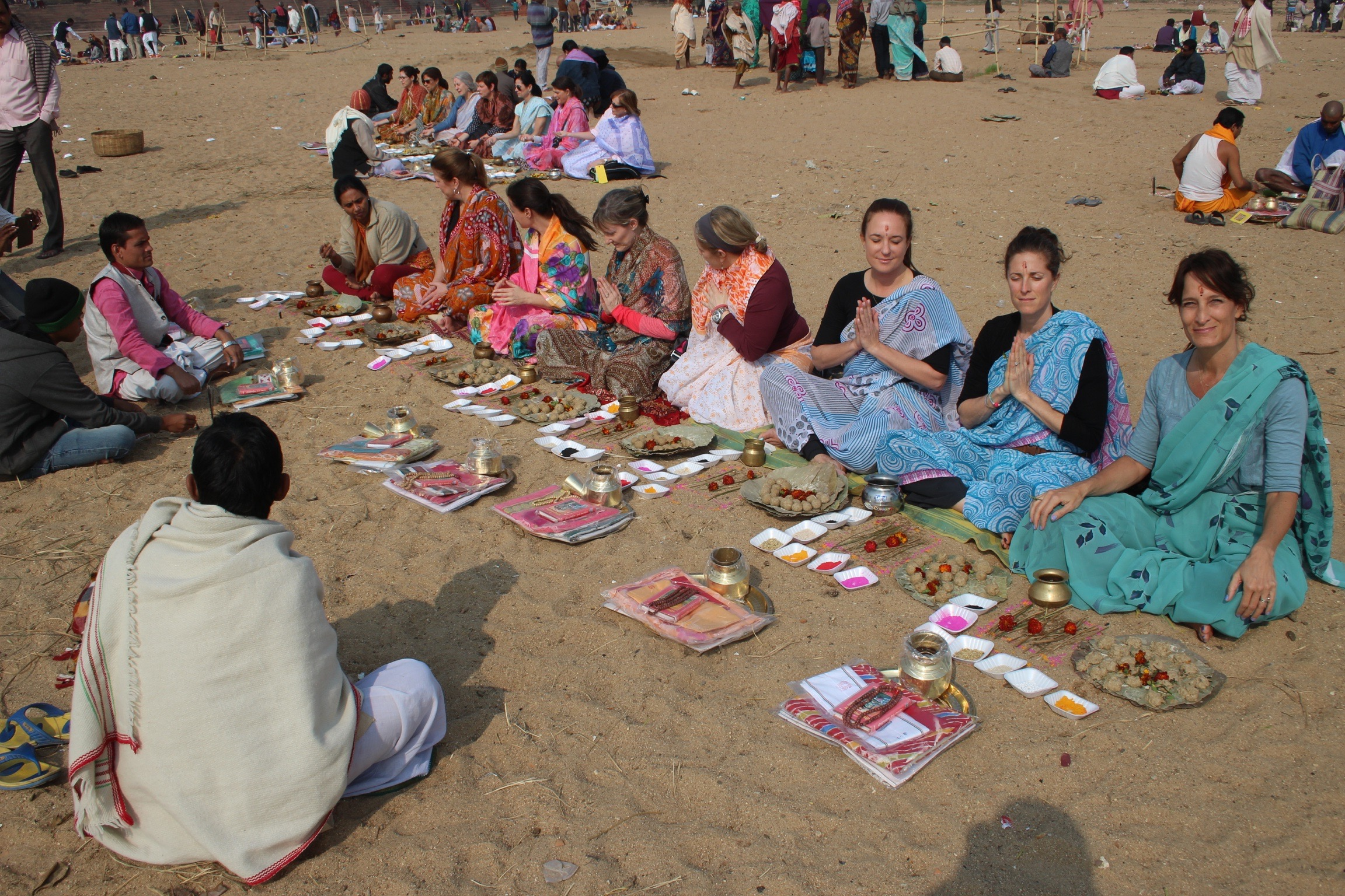 Puja ceremony in Gaya.