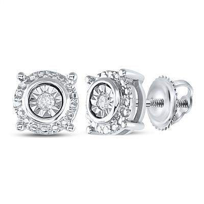 Earring Saturn Diamonds