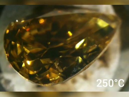Color in precious stones: Chameleon Diamonds