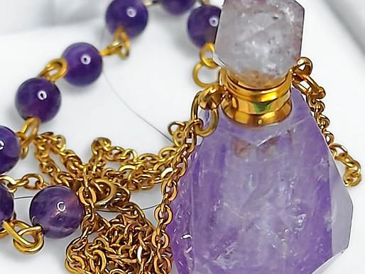 Gemstones in Aromatherapy