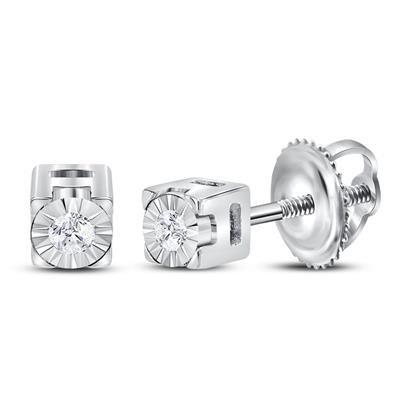 MINNE WHITE Diamond Earrings