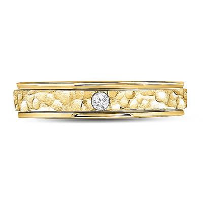 1/20Ctw 14K Solitaire Band