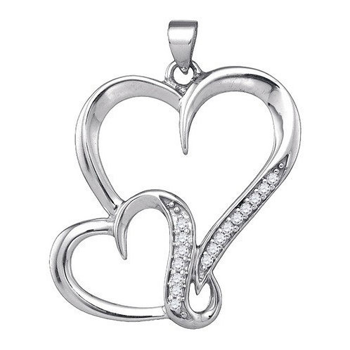 Coeur Diamond Pendant