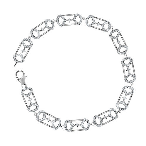 Pi Diamond Bracelet