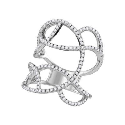 18k 1ctw Diamond Earring