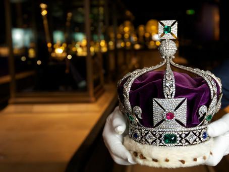 Gemstones in Kings and Queen Crowns