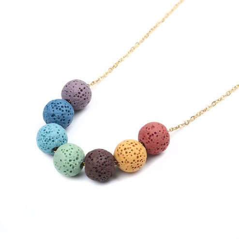 Arcoiris Lava Necklace