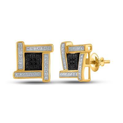 Fancy SQUARE NOON Diamond Earring