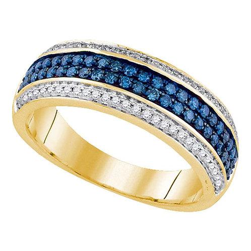 Anillo con Diamantes 1/2 ctw Oro 14k 4.9gr.