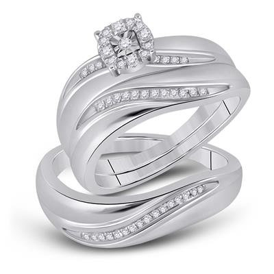 Infinito Diamond Wedding Set