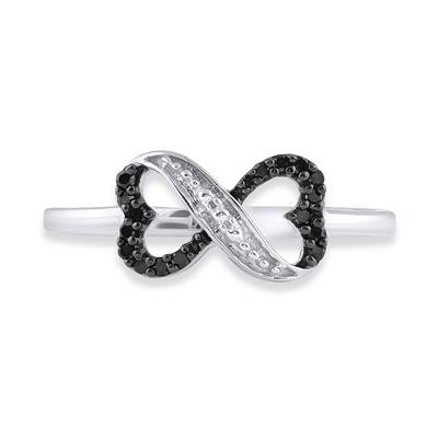 Ring Pi Black Diamonds