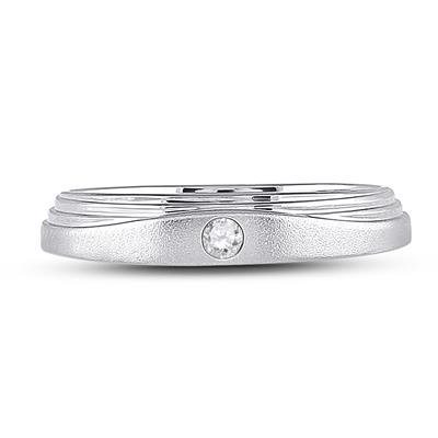 1/12Ctw 14K Solitaire Band