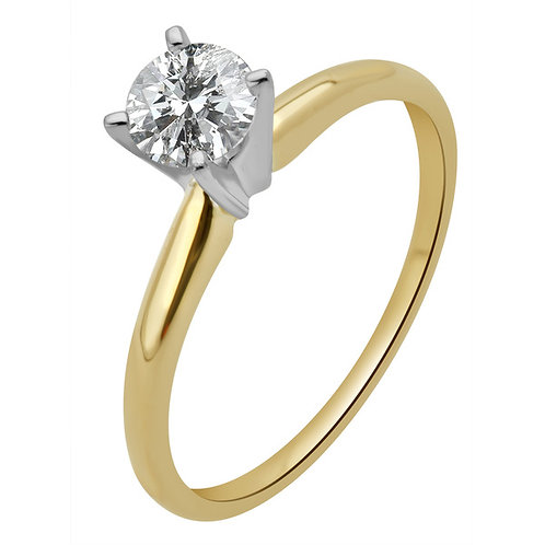 1 Ctw 14K Solitaire Bridal Wedding