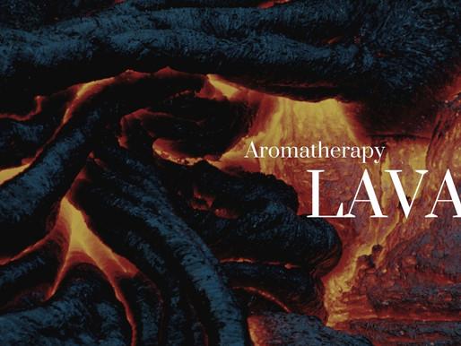Gemstones in Aromatherapy - Lava