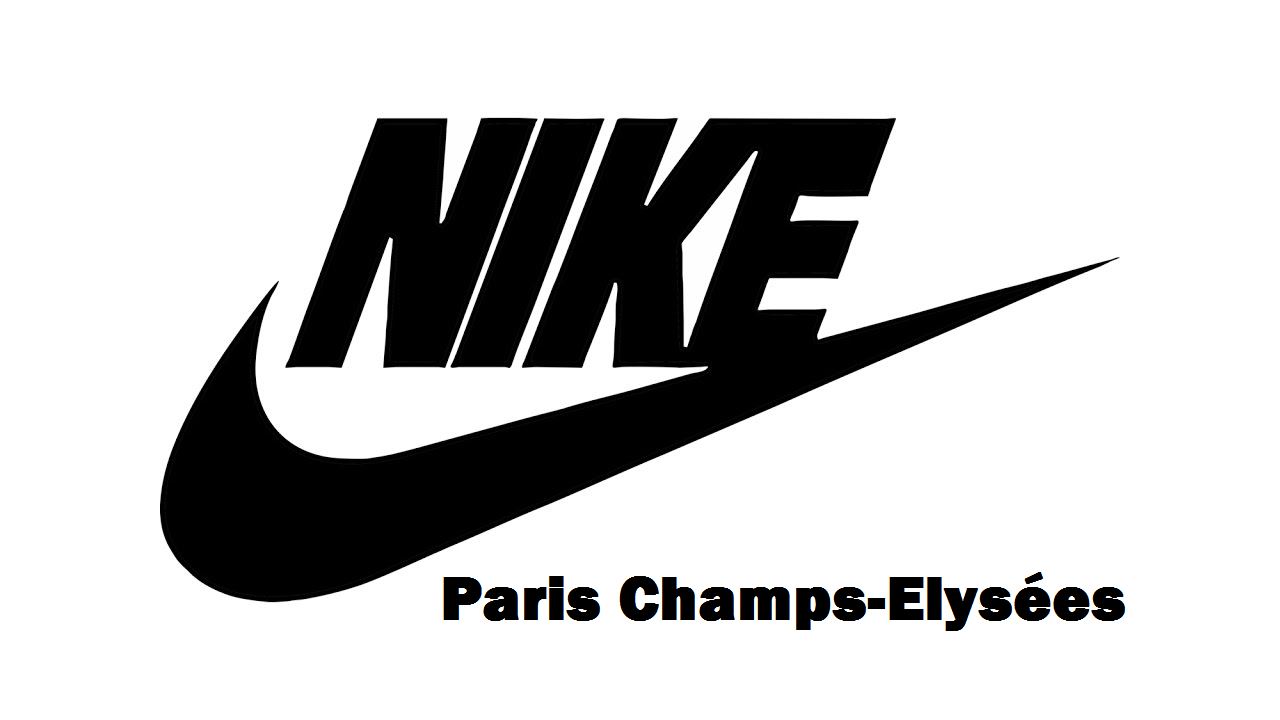 logo nike paris champs elysees