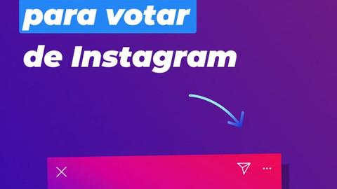 "Instagram ""Voter Registration"" - Spanish Version"