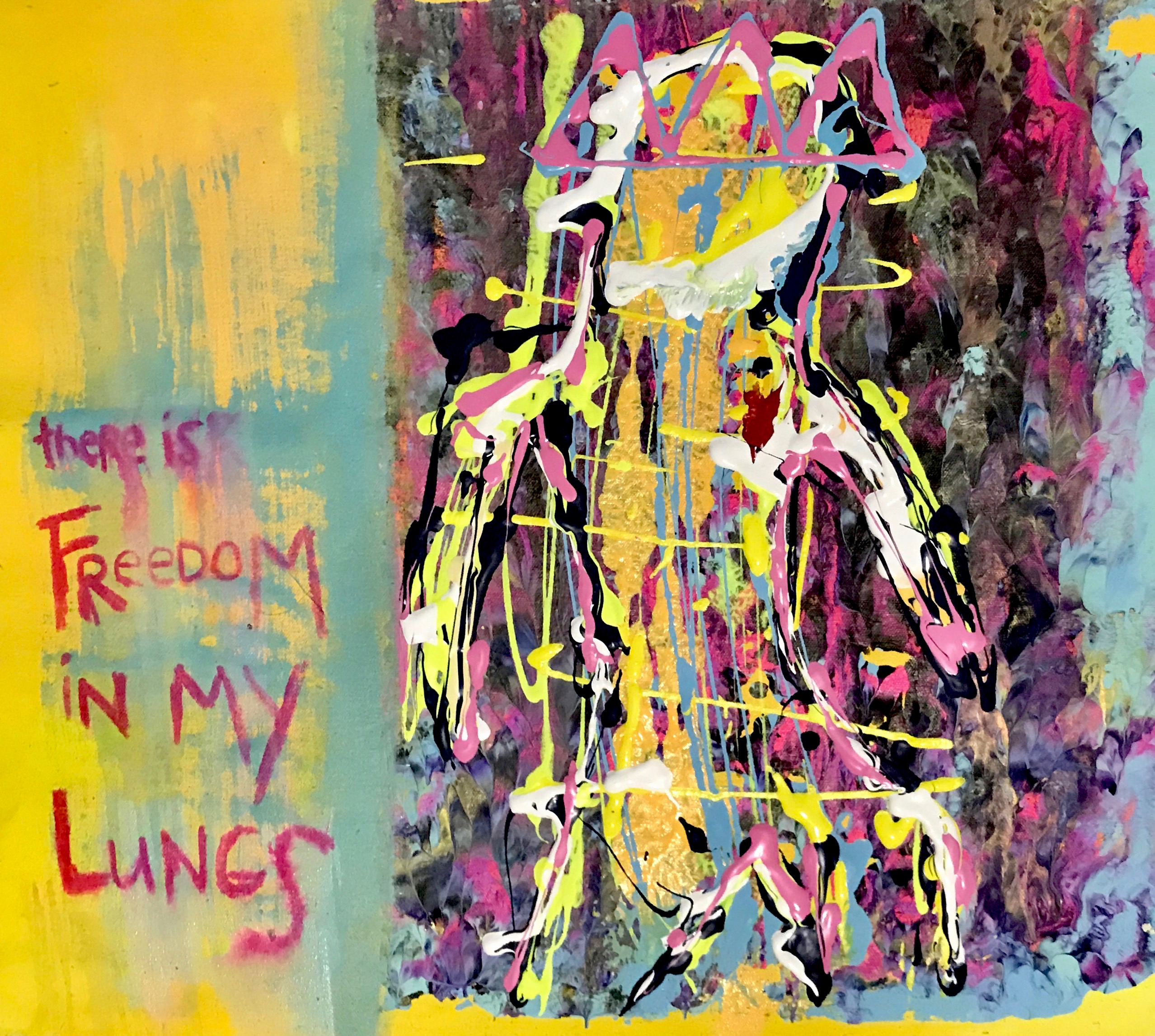 """There is Freedom in my Lungs"""