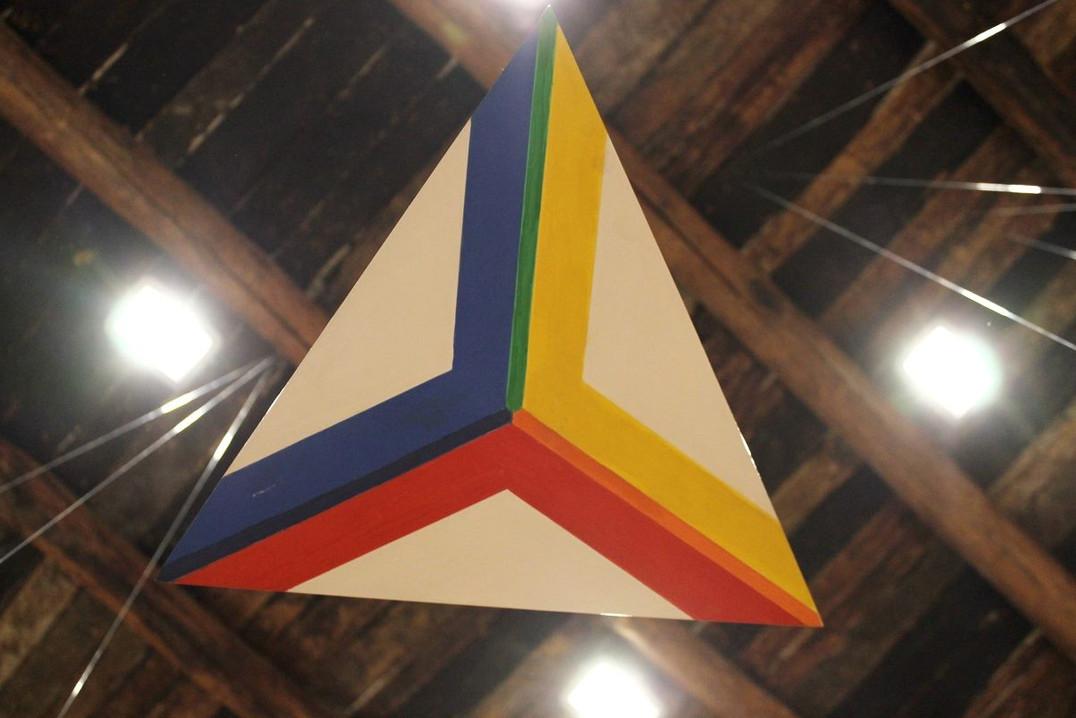 """Particolare """"Sequenza del triangolo"""""""