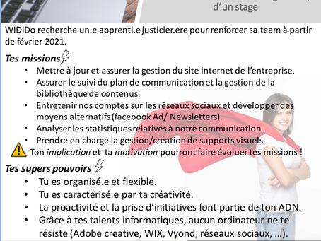 Super héro.ïne wanted - stagiaire assistant.e communication et marketing