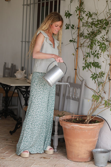 Pantalon Luisa green