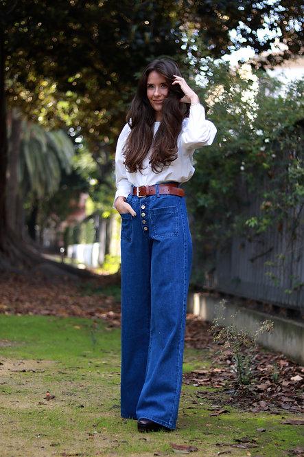 Pantalon Ginna jeans wide leg