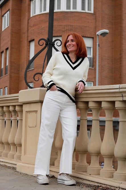 Pantalon Rita white