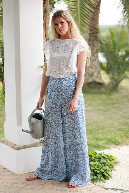 Pantalon Luisa blue