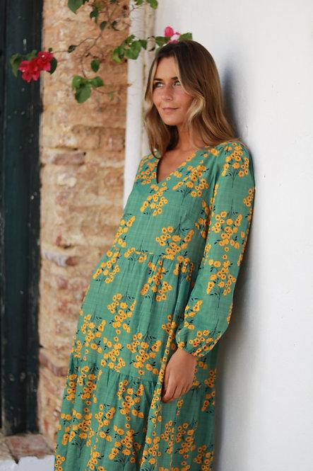 Vestido Marina green