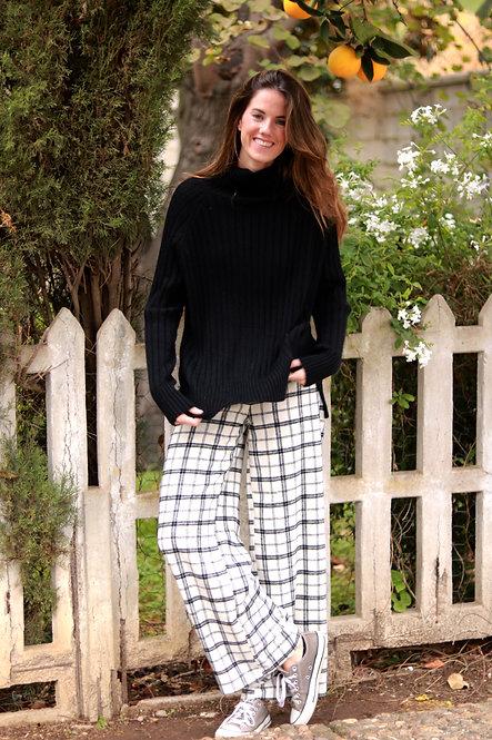 Pantalon Agatha plaid