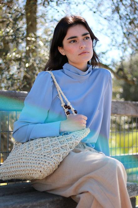 Blusa Ella blue