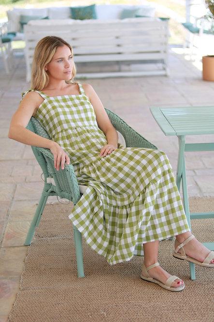 Vestido Monica green