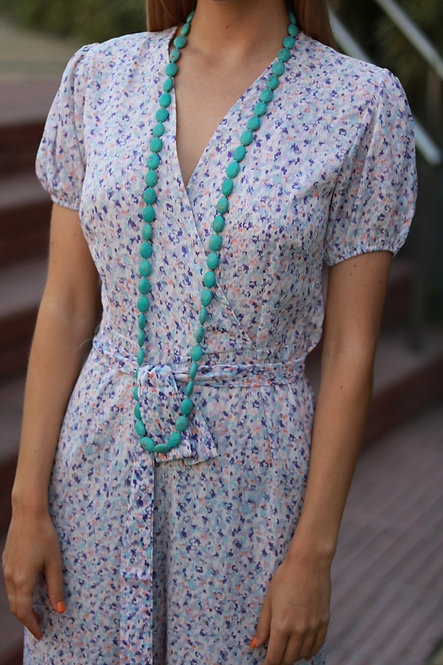 Collar Lidia blue