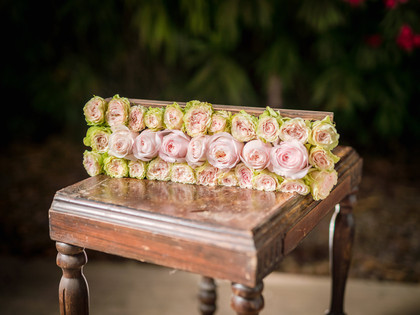Rose Pave Box