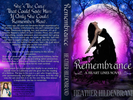 Remembrance: reveal + giveaway