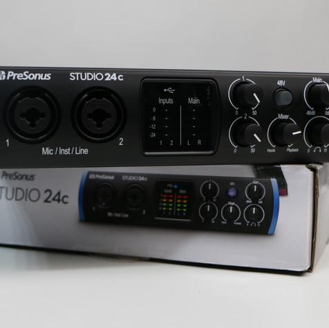 [오디오 인터페이스] PRESONUS Studio 24c