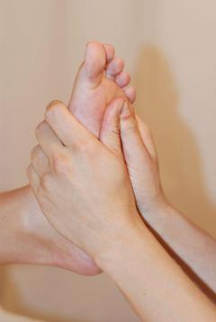 On the Receiving End of Reflexology