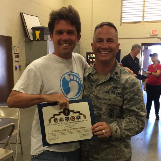 Unity at MacDill Air Force Base