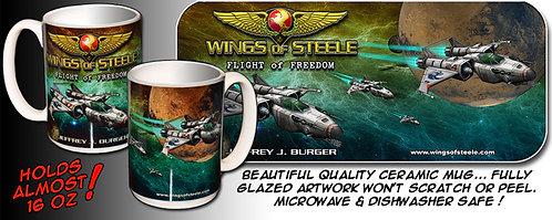 Wings of Steele Flight of Freedom Ceramic Mug