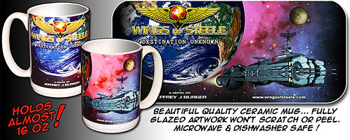 Wings of Steele Destination Unknown Ceramic Mug