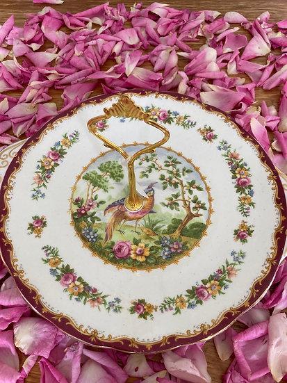 Royal Albert cake plate with handle