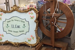 Vintage Firescreen shop sign