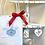 Thumbnail: Starter Decoupage Kit Bag-  keyrings