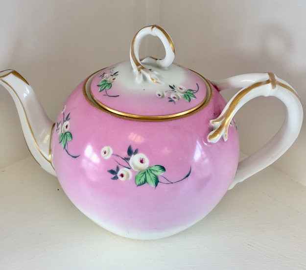 Pink teapot