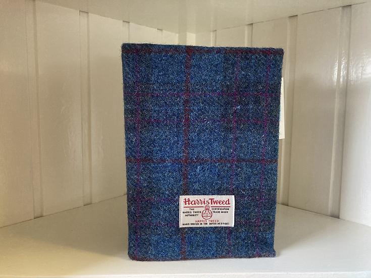 Harris Tweed covered notebook