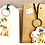 Thumbnail: Keyrings, cards and necklaces - decoupaged wooden accessories.