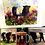 Thumbnail: Beltie Art  - cards, shopping bags , tea towels, mugs, cushions ,